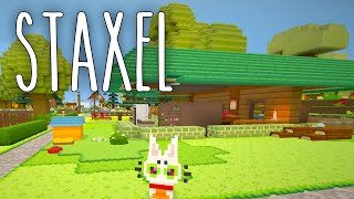Staxel #13 | Ein offenes Design | Gameplay German Deutsch thumbnail