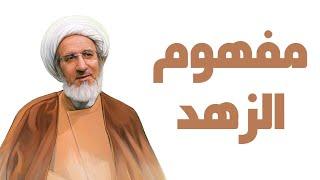 مفهوم الزهد - الشيخ حبيب الكاظمي