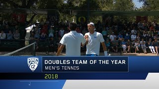 UCLA's Evan Zhu & Martin Redlicki earn Pac-12 Men's Tennis Doubles Team of the Year accolades