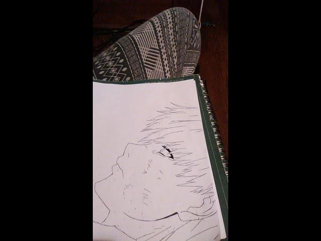 Speed Drawing Ken Kaneki | Tokyo Ghoul