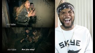 Chrissy Teigen, Her Mom & Average Andy Go Through a Haunted House Reaction!!