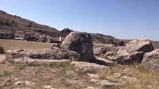 Hattusa megalithic site in Turkey Video
