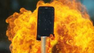 EXPLOSER UN IPHONE EN SLOW MOTION !