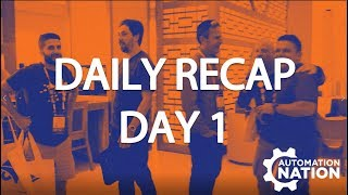 Automation Nation 2018 | Daily Recap Day One