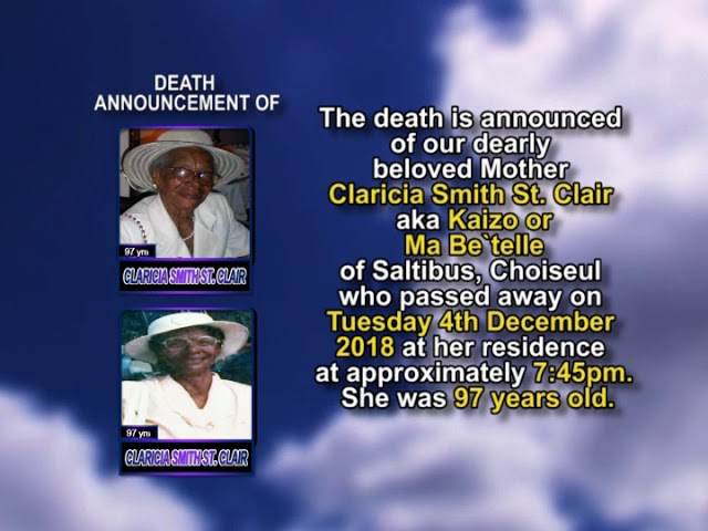 Claricia Smith St  Clair short