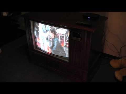 Television Antigua Zenith para amantes de lo vintage