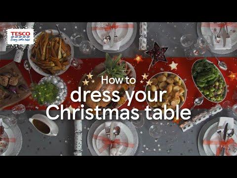 How to Dress your Christmas Table | Tesco
