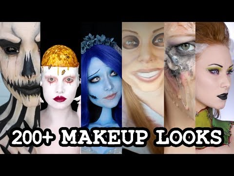 1 GIRL 200 HALLOWEEN MAKEUP LOOKS