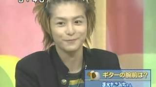 Teppei Koike, Mocomichi Hayami, and Keisuke Koide guest in a talk s...