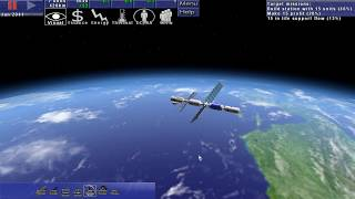 Space Station Manager sim gameplay demo