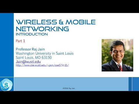 Wireless & Mobile Networking: Introduction