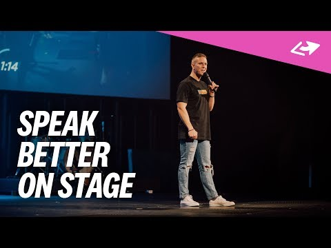 5 Ways To Speak Better On Stage