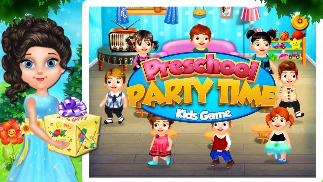 preschool party time kids