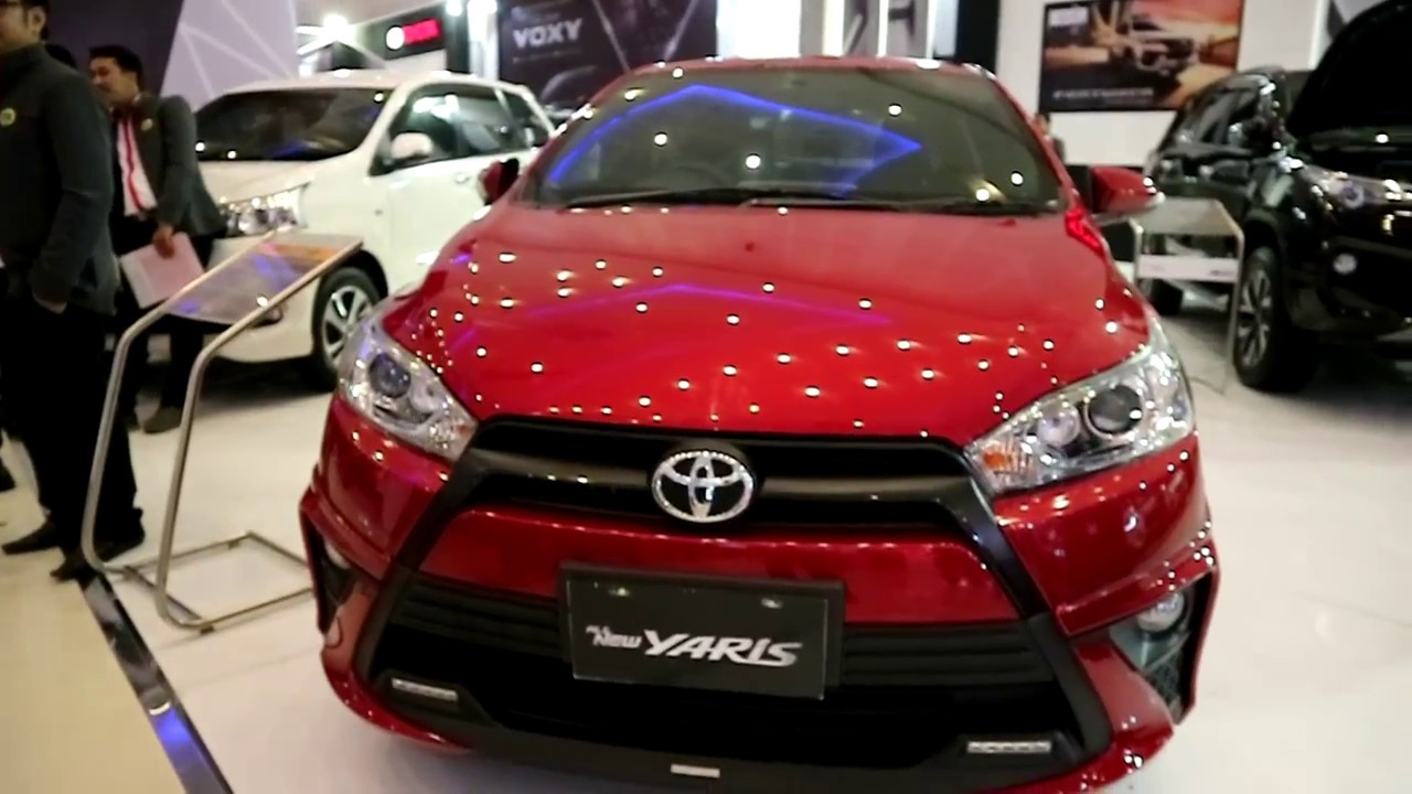 Toyota Yaris Trd Sportivo 2018 Indonesia Grand New Avanza Veloz Red Colour Exterior And Interior