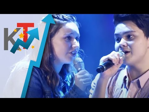 Tina Umali versus Klynn Pineda in The Voice Teens The Battles