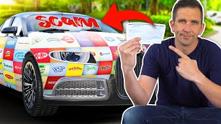 Scamming a Car Wrap Scammer!