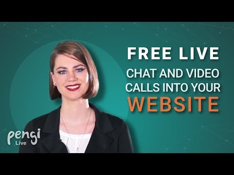 Pengi Live: Free Live Chat, Voice And Video Calls For Websites