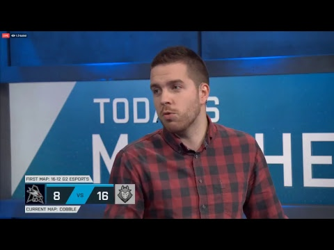 [ENGLISH] ESL PRO LEAGUE: G2 vs. AGO