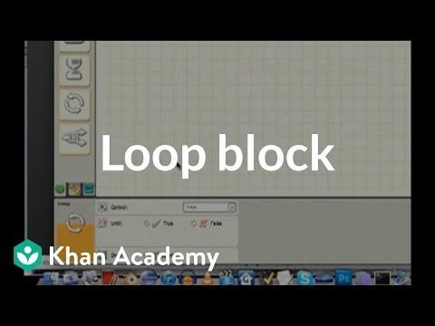 Loop block | Lego robotics | Electrical engineering | Khan Academy ...