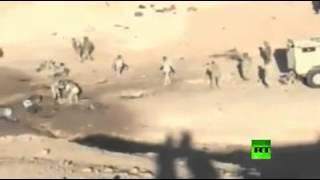 جديد - معارك الانبار - سحق داعش - من قناة روسيا اليوم