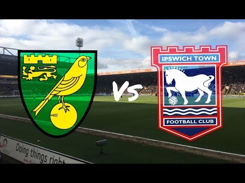 Norwich City vs Ipswich Town 18th February 2018 (MATCH DAY VLOG)