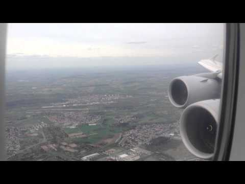 Beijing - Frankfurt on Lufthansa Airbus A380-800 (part 2)
