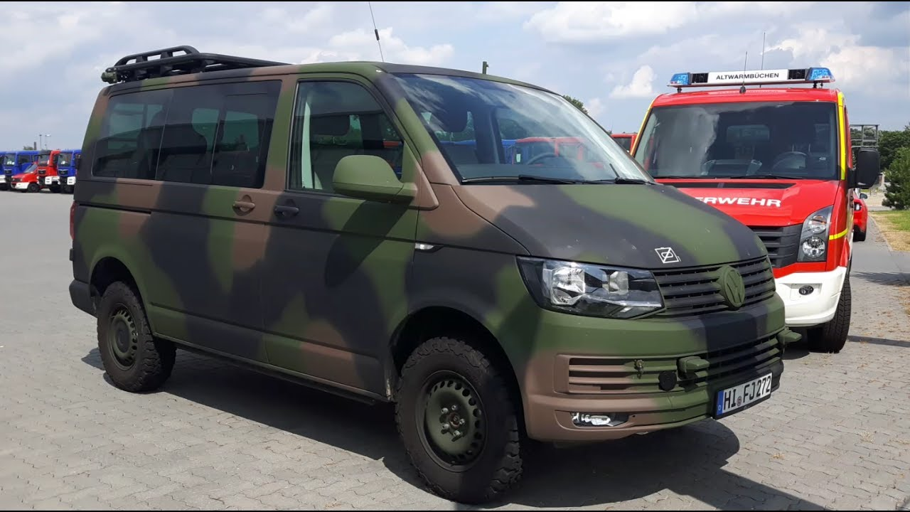 new bundeswehr vw t6 and amarok at factory youtube. Black Bedroom Furniture Sets. Home Design Ideas