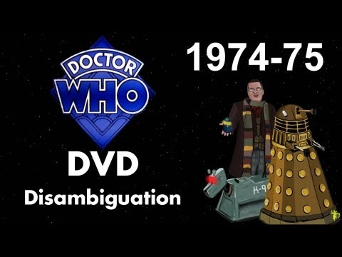 Doctor Who DVD Disambiguation - Season 12 (1974-75)