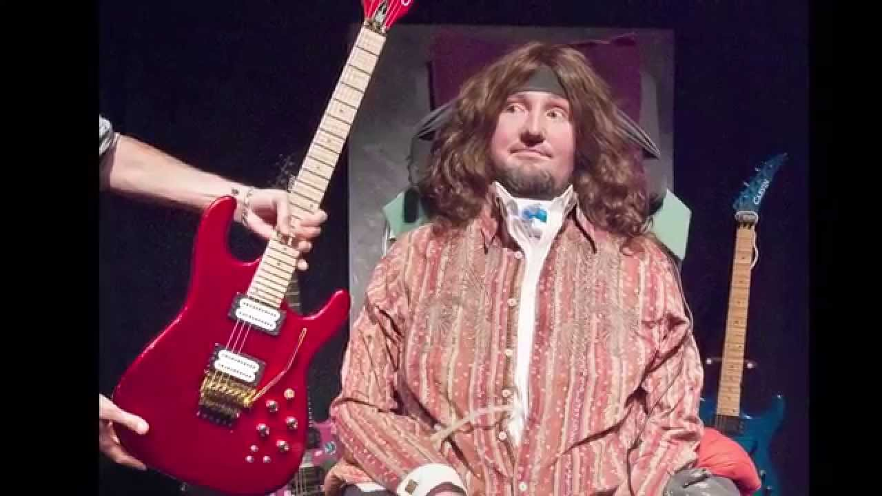 Carvin Guitars makes the Michael Jackson inspired guitar for Jason Becker - YouTube