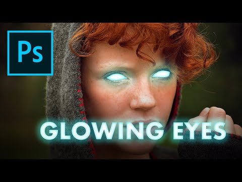 Glowing Eyes Tutorial - Adobe Photoshop