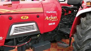 Mahindra Arjun ultra 605 DI Plus Point and price.