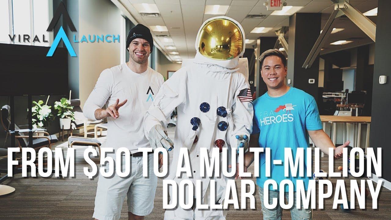 viral launch net worth