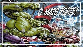 TOP 10 MAIS FORTES DA MARVEL