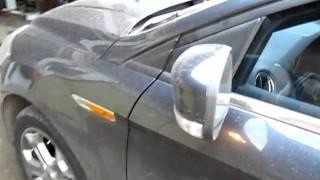 Поворотники в зеркалах Ford Mondeo