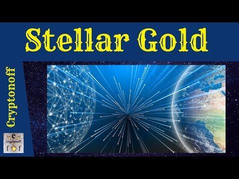 Stellar Gold ICO Обзор | Конвертация Криптовалют В Традиционные Валюты Без Посредников