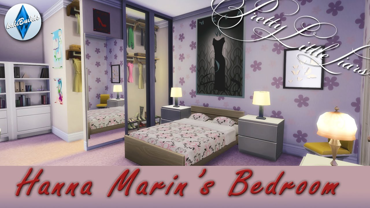 the sims 4 room build pretty little liars hanna 39 s room youtube
