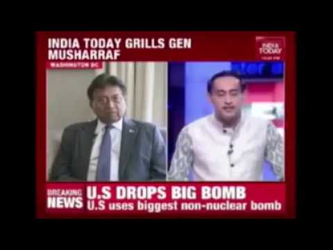Gen Parbez Musharraf says Barkha Dutt as Pakistani Agent