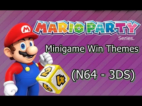 Mario Party - Minigame Victory Themes (N64 - 3DS)