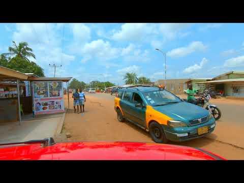 🇬🇭 GHANA VLOG 3: building a Property | My village | Ghana police lol