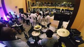 Sonnie Badu Ese Oluwa by worship First. Drummer :Toms Mwambo