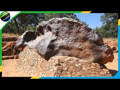 world's largest meteorites (Mbozi Meteorite) in Mbeya - Tanzania