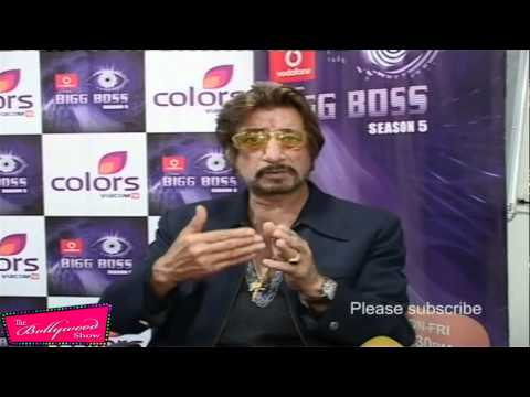 Shakti kapoor telling about his family@  INTERVIEW AFTER LIVING BIG BOSS
