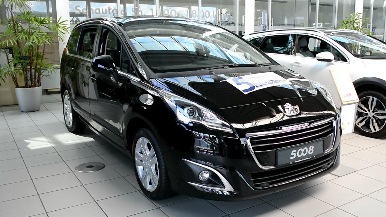 2014 new peugeot 5008 allure hdi 150 youtube. Black Bedroom Furniture Sets. Home Design Ideas