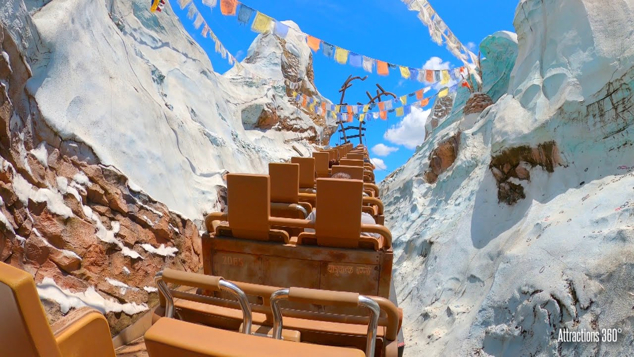 Everest Ride - Disney's Animal Kingdom 2020 - Disney World
