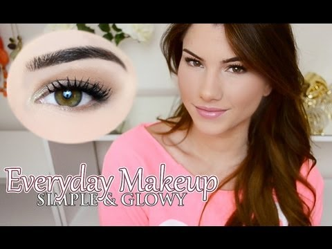 YouTube everyday Natural   tutorial Makeup natural  Everyday makeup for Tutorial