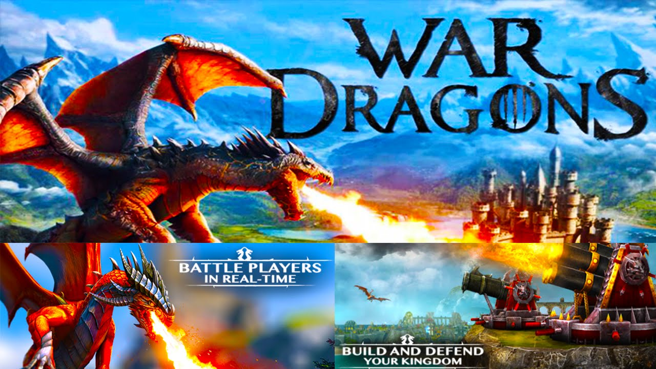 how to play war dragons on pc