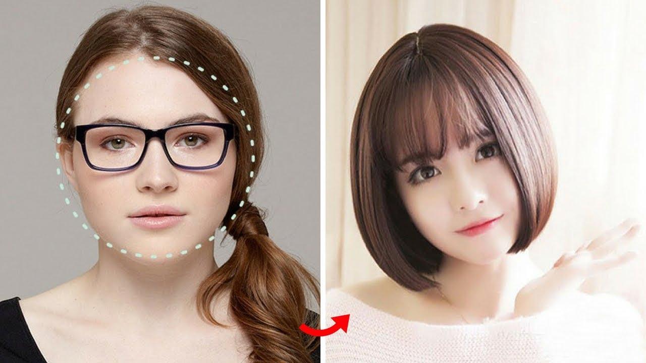 Các kiểu tóc ngắn cho mặt tròn trán cao cực xinh