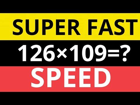Fast calculation in mathematics/shortcuts/tricks