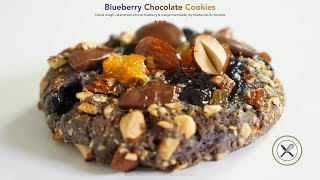 Blueberry Chocolate Cookie – Bruno Albouze – THE REAL DEAL