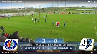Getafe B vs Inter de Madrid full match